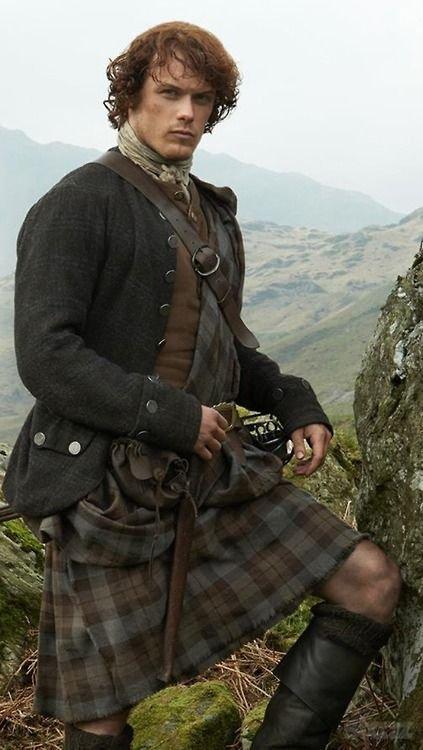 Jamie Fraser blanket