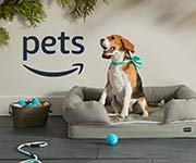Great items your pet needs. Food, treats, toys and more