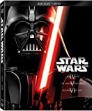 Star Wars Trilogy Episodes IV-VI (Blu-ray + DVD)  DVD Included  Mark Hamill (Actor), Carrie Fisher (Actor
