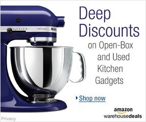 Shop Amazon Warehouse Deals - Deep Discounts on Open-box and Used Kitchen Gadgets