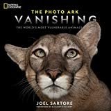 See all 2 images  National Geographic The Photo Ark Vanishing: The World's Most Vulnerable Animals Hardcover – September 10, 2019  by Joel Sartore  (Author), Elizabeth Kolbert (Foreword)