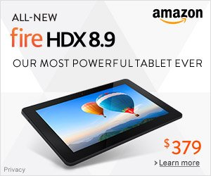 Shop Amazon - All-New Fire HDX 8.9 - Our Most Powerful Tablet Ever