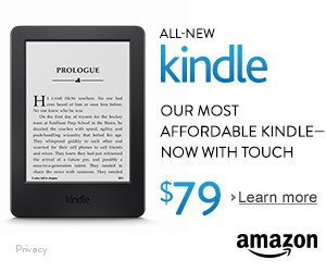 Shop Amazon - All-New Kindle - Our Most Affordable Kindle - Now With Touch