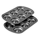 Wilton Non-Stick 6-Cavity Donut Baking Pans, 2-Count  byWilton