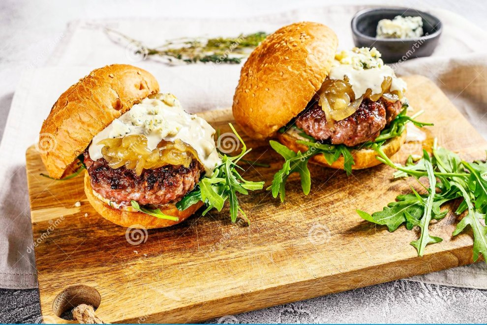 My Black & Blue Burgers