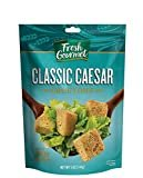 Fresh Gourmet Premium Croutons, Classic Caesar, 5 Ounce (Pack of 6)  by Fresh Gourmet