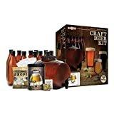 Mr. Beer Complete Beer Making 2 Gallon Starter Kit, Premium Gold Edition, Brown  byMr. Beer