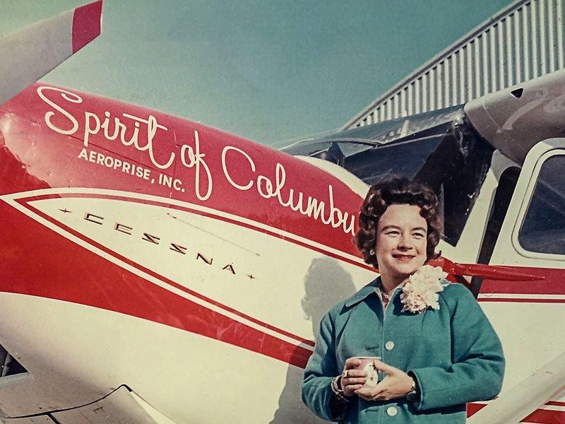 Geraldine Mock- Aviator