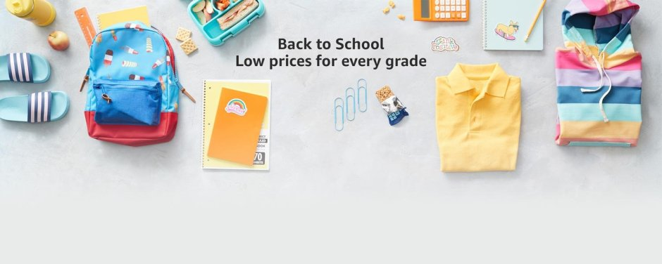 Get supplies for every grade