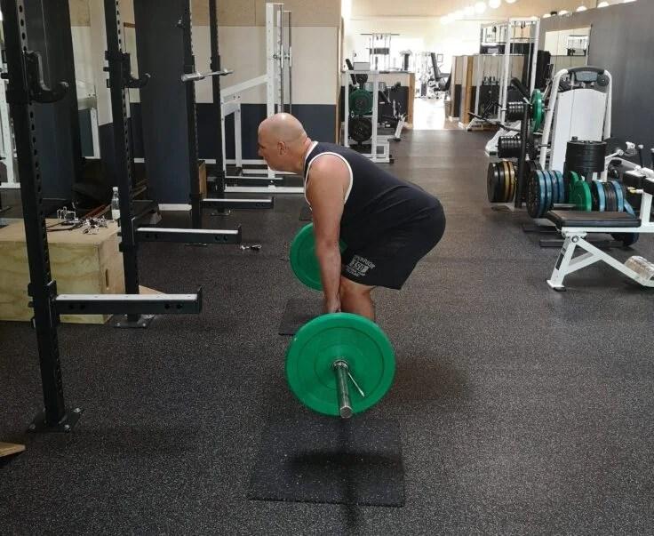 Dødløft styrketræning