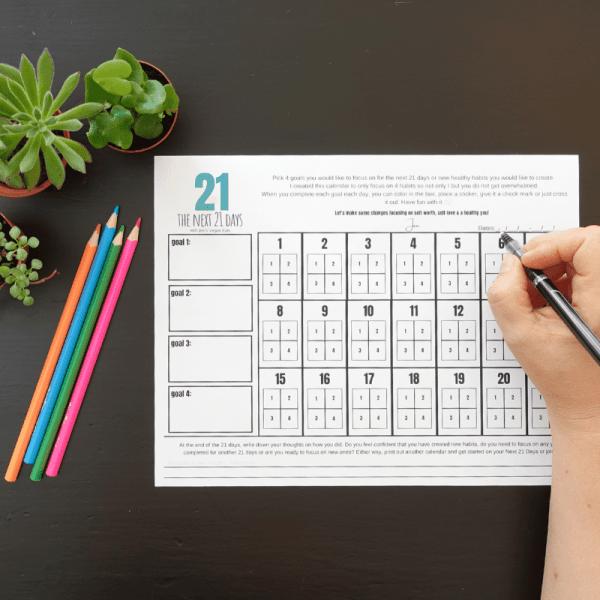 The Next 21 Days Calendar