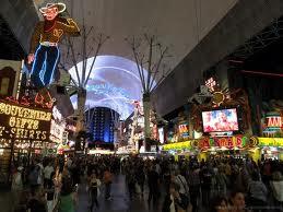 Vegas Neon Cowboy on Fremont Street