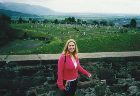 Weekend in Stirling, Scotland Spring 2001