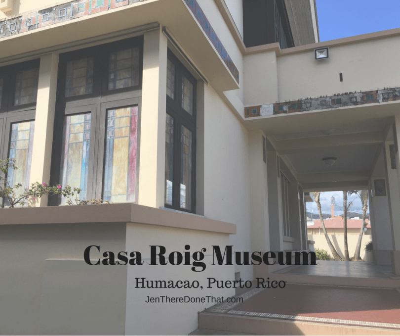 Casa Roig Museum in Humacao Puerto Rico