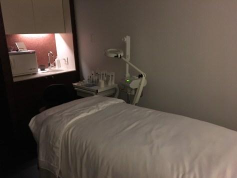 Guerlain Spa Facial Room at the Plaza Hotel NYC