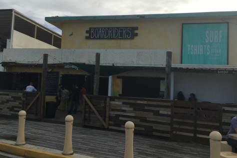 Boardriders restaurant in Luquillo, Puerto Rico