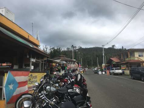 Guavate Motorcycle parking