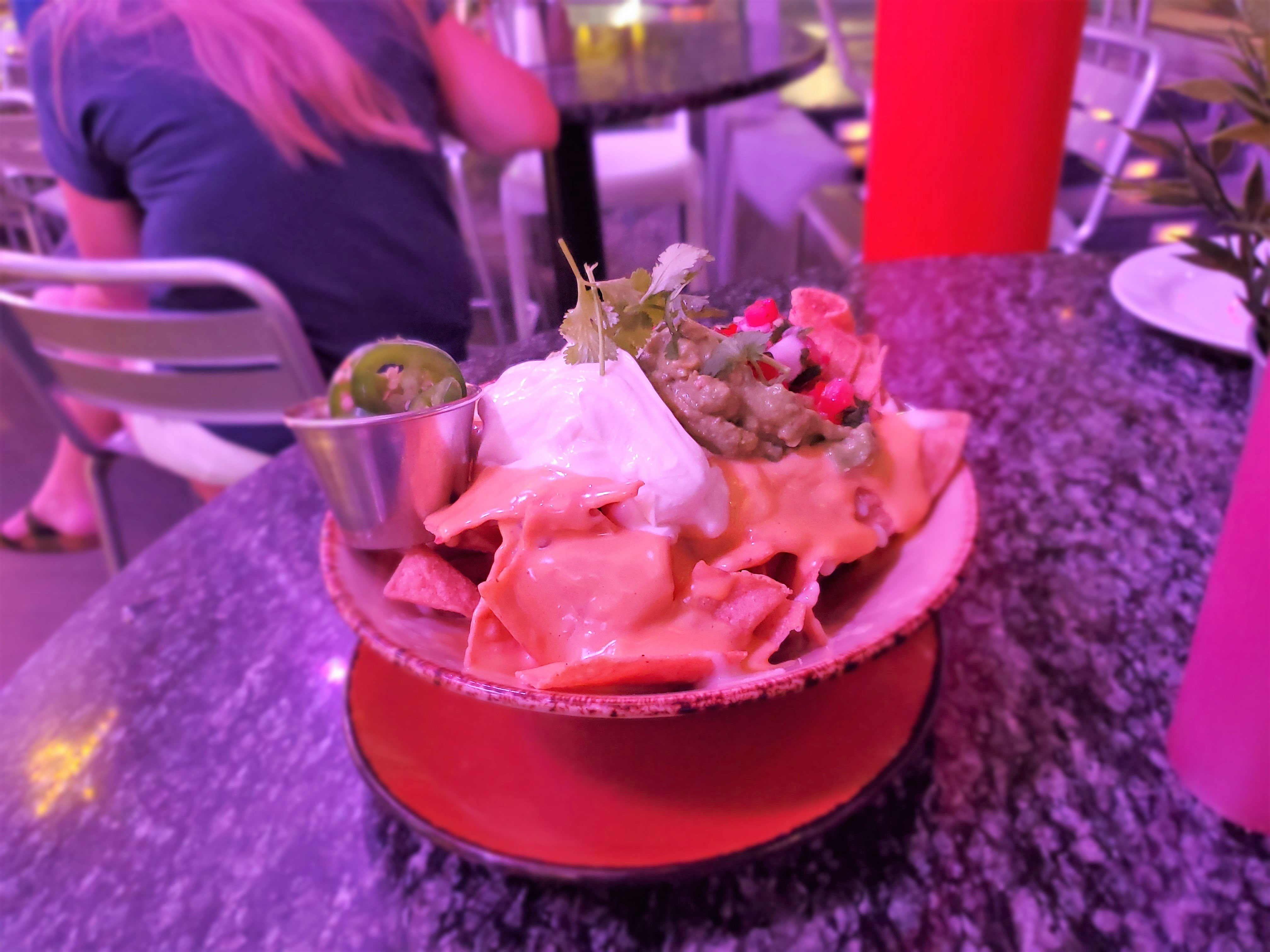 Nachos at Strip Burger