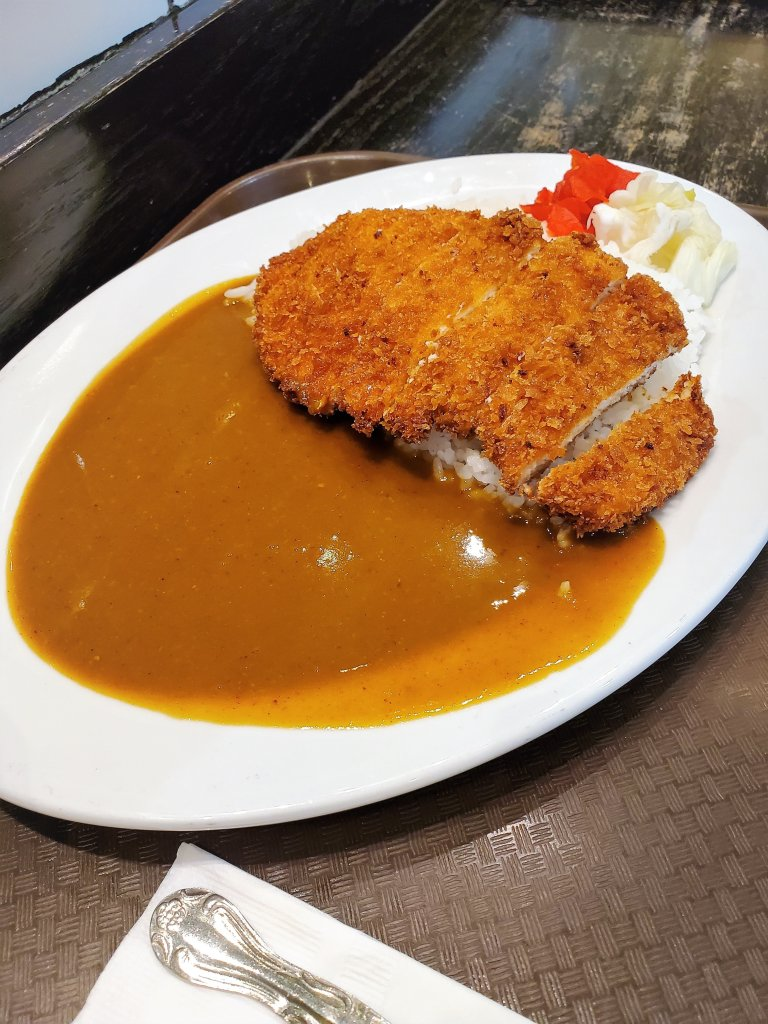 Curry Chicken Katsu at Muracci's Japanese Curry & Grill