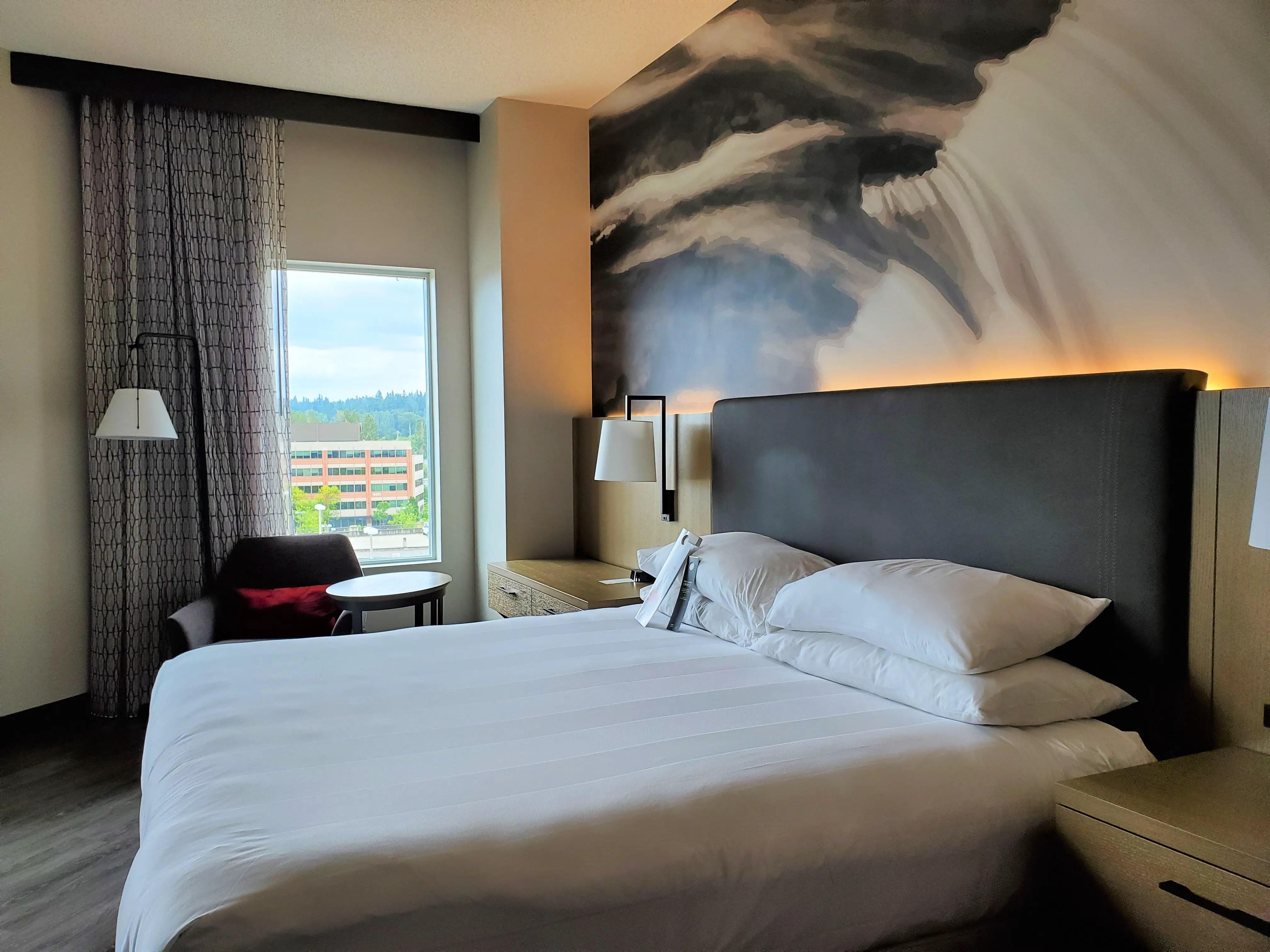 King Room at Seattle Marriott Redmond