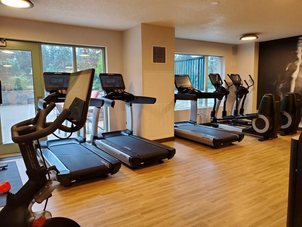 Fitness Center at Seattle Marriott Redmond