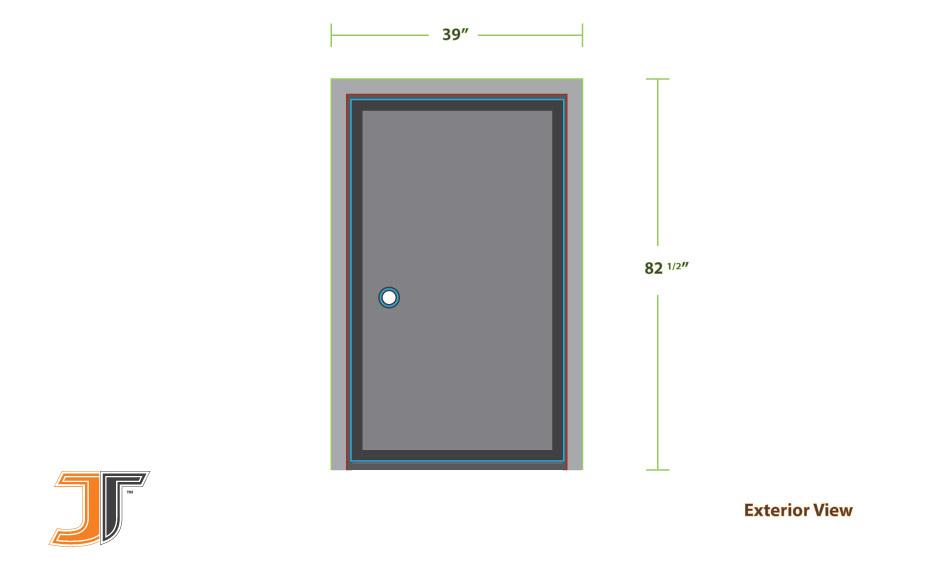 How To Measure a Prehung Door Exterior