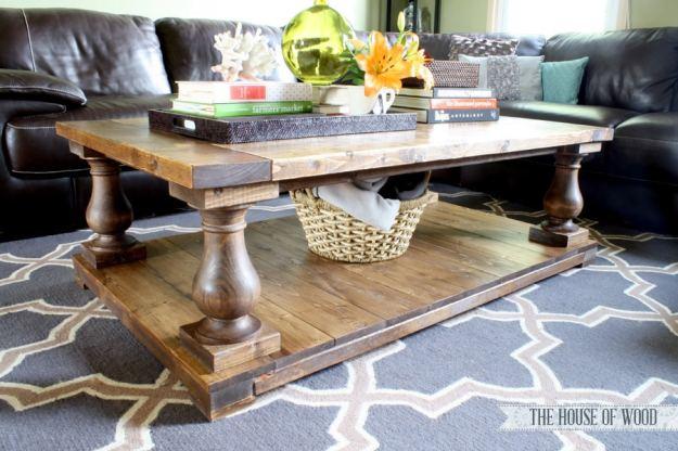 diy restoration hardware-inspired coffee table