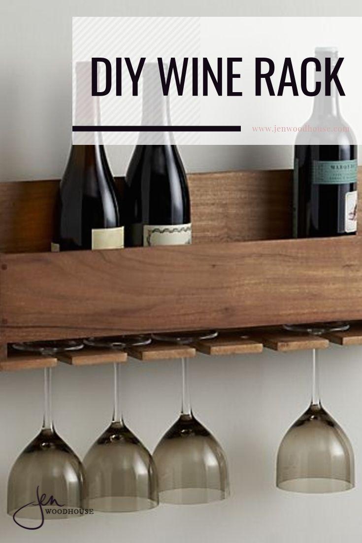 wine bottle and stemware rack
