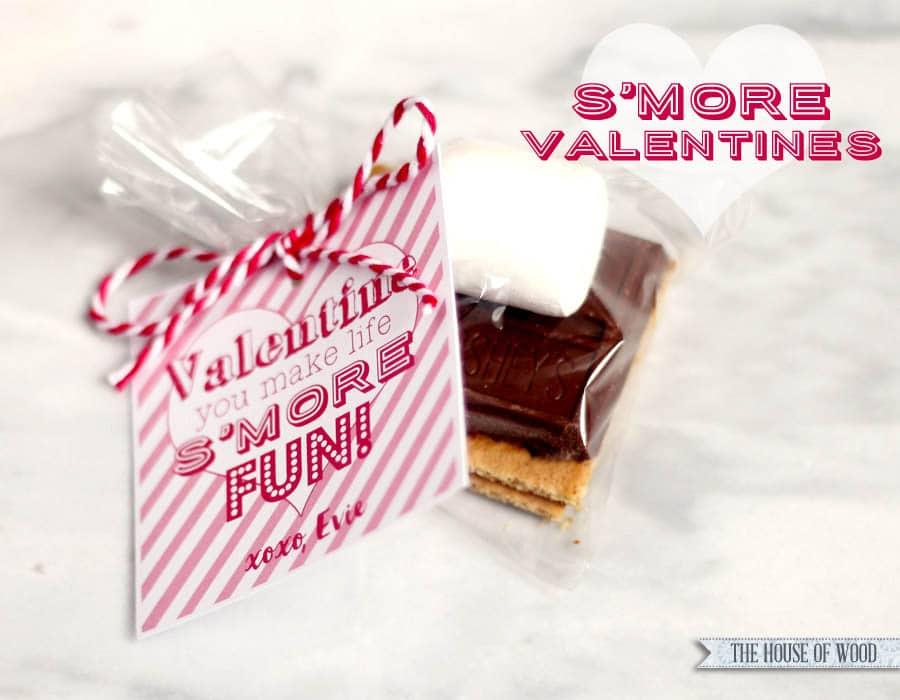 Valentines Day Smores
