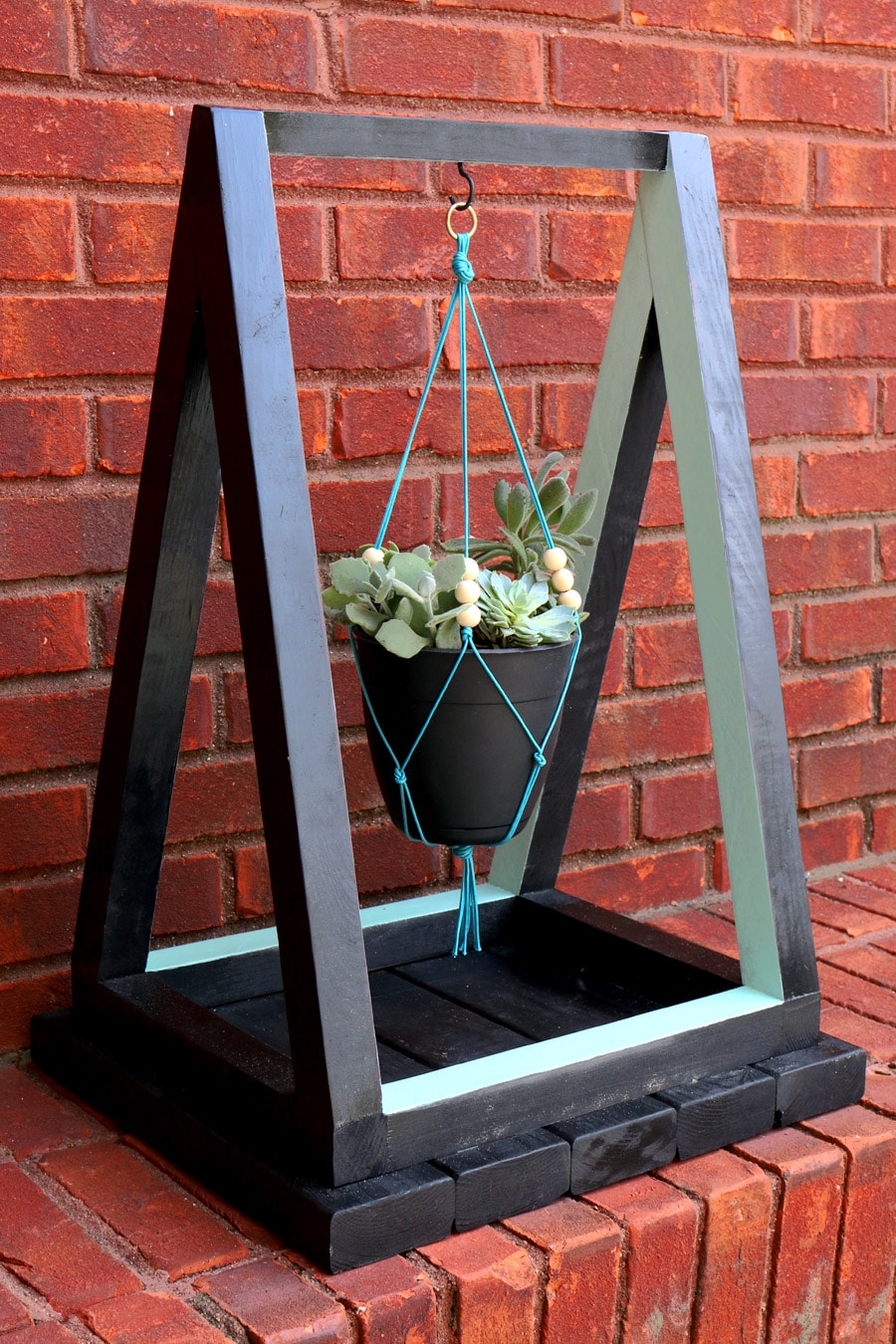 How To Build A Hanging Planter With The Home Depot on Hanging Stand For Plants  id=85495