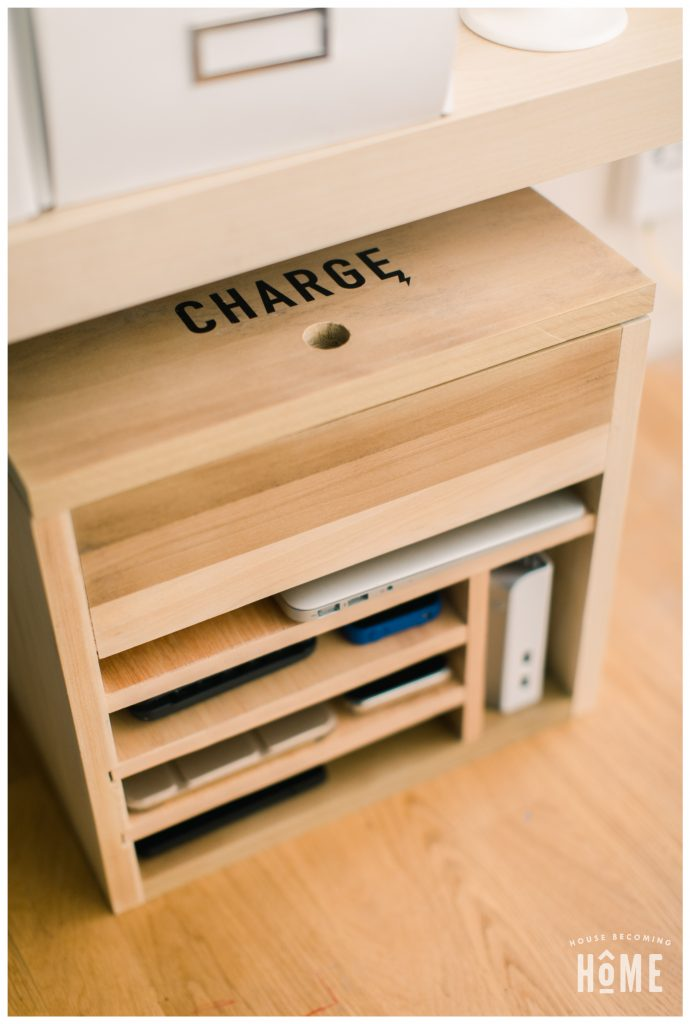 How To Make A Diy Charging Station For Electronic Devices