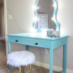 How To Build A Diy Makeup Vanity With Lights Desk With Drawers