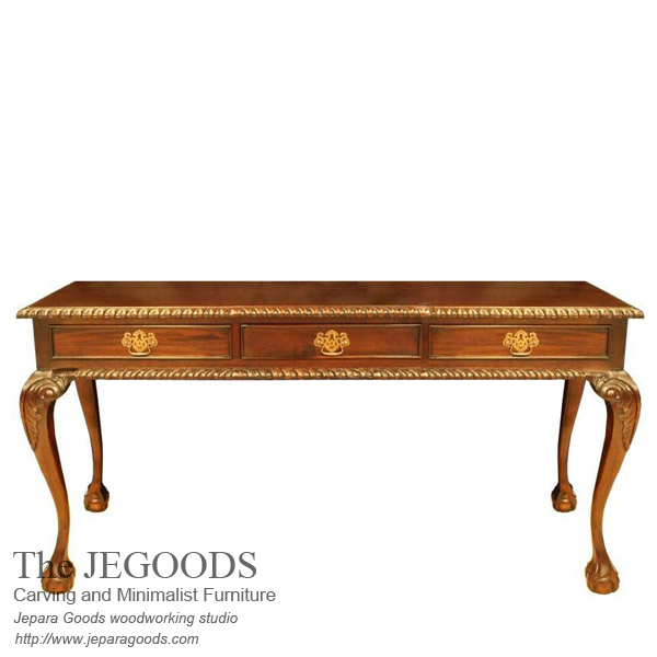 Chippendale Writing Table