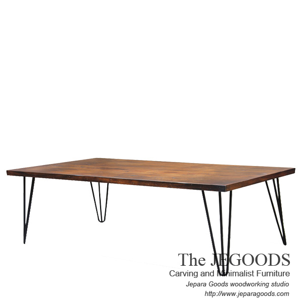 » Buy Industrial Rustic Coffee Table Furniture Iron Wood