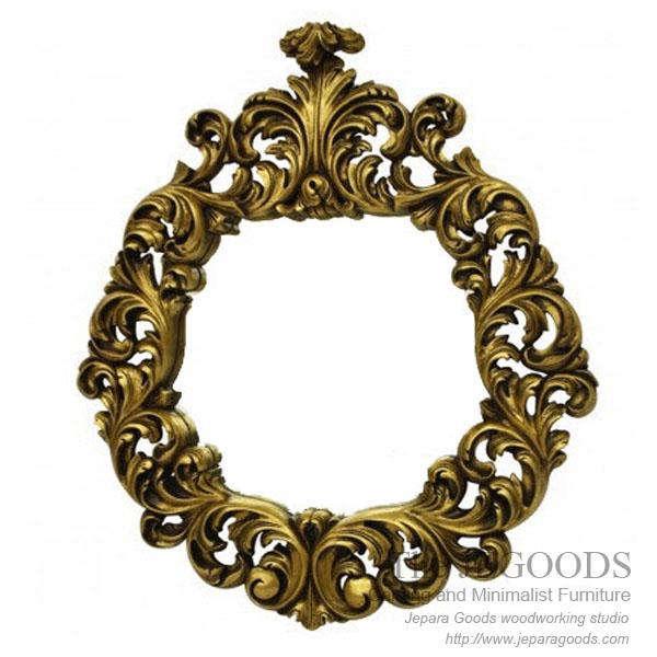 Baroque Gilt Mirror