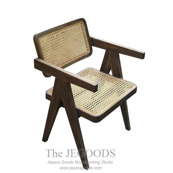 Pierre Vintage Cane Chair