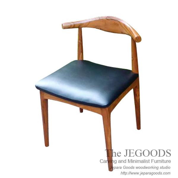 Buy Teak Cow Horn Retro Vintage Scandinavia Replica Chair