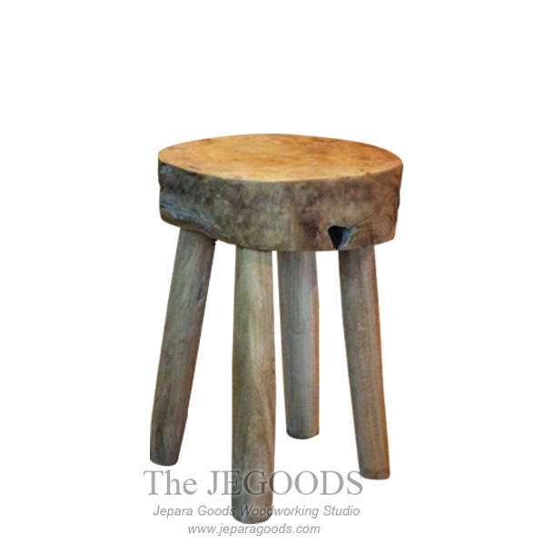 Rustic Root 4 Legs Side Table