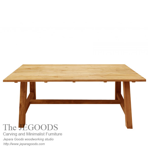 Kebun Teak Dining Table Outdoor Living Style Furniture