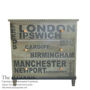 chest of drawer chessboard painted,buffet creative painted jepara,buffet vintage shabby chic,creative color furniture,white painted furniture,furniture ukir jepara cat putih duco,model mebel klasik cat duco jepara,shabby chic jepara vintage,typography chest of drawer,
