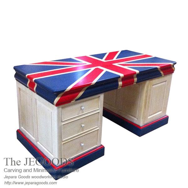 Union Jack Twin Desk