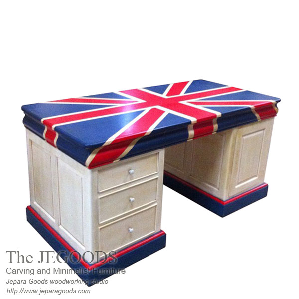 Union Jack Twin Desk