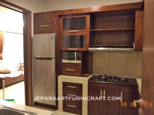 Paling Laris Kitchen Set Minimalis Jati Harga Murah