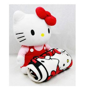 gambar selimut hello kitty