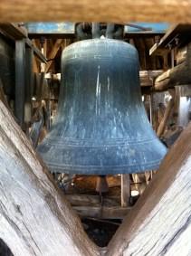 Inside the bell tower of La Tour César