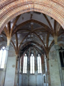 A chapel in the Cloister, Les Jacobins