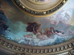 Detail from the ceiling of the Salon du Glacie