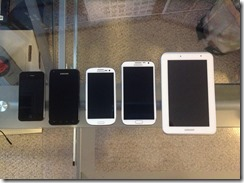 The Android Lineup
