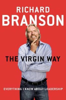 A photo of the cover of The Virgin Way by Richard Branson