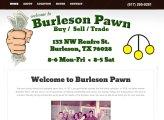 Burleson Pawn
